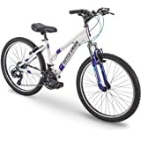 "Royce Union 24"" RTT Womens 21-Speed Mountain Bike, Aluminum Frame, Trigger Shift, White"