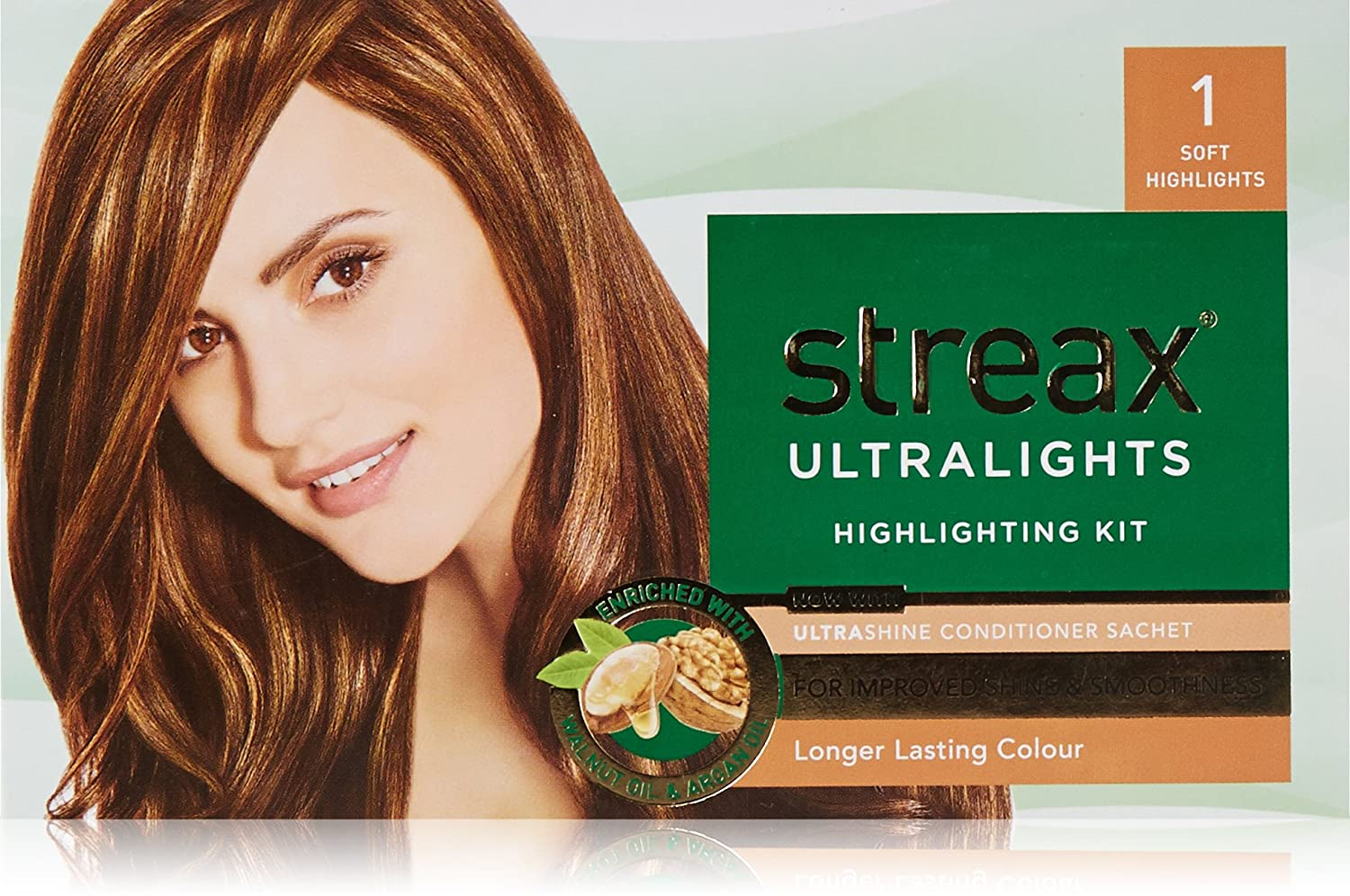 Buy Streax Ultra Light Soft Style 1 Hair Color 20ml With Blonder