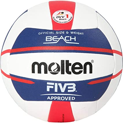 MOLTEN – Pelota de Europe v5b5000 de de Beach Voleibol, Color ...