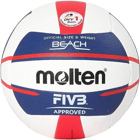 Molten Europe Ball-V5B5000-DE - Pelota de Voleibol en la Playa, 5 ...