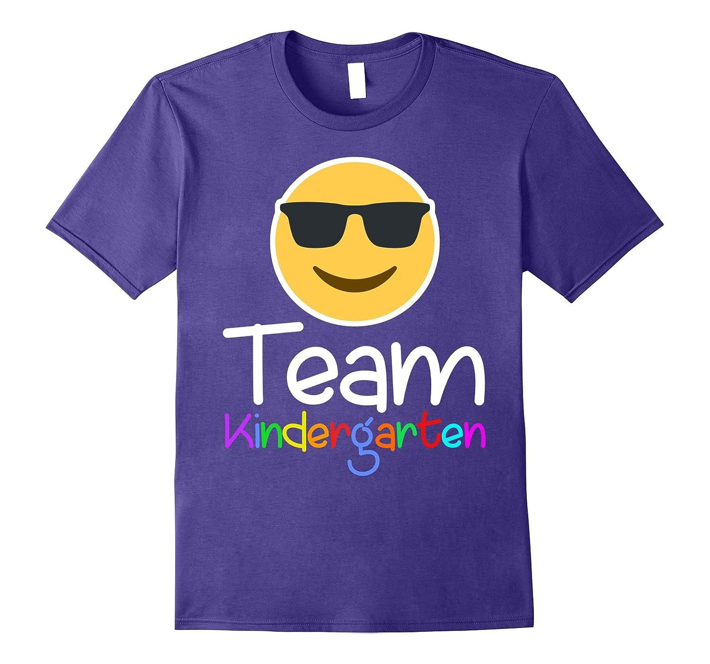 Emoji Team KINDERGARTEN Teacher T Shirt for lover-T-Shirt