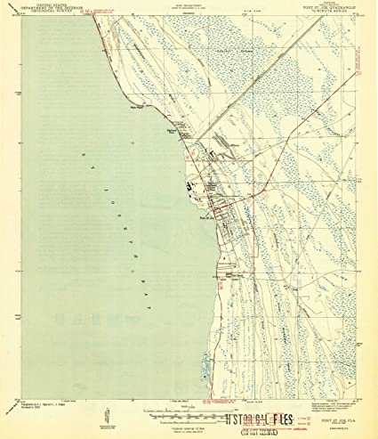 St Joe Florida Map.Amazon Com Yellowmaps Port St Joe Fl Topo Map 1 31680 Scale 7 5 X