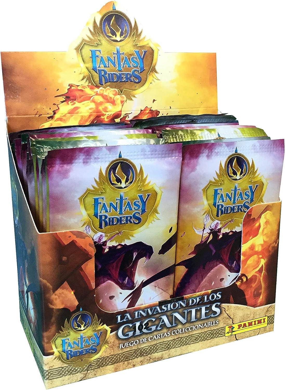 Panini- Caja 50 Sobres Trading Cards Fantasy Riders 2. La invasión ...