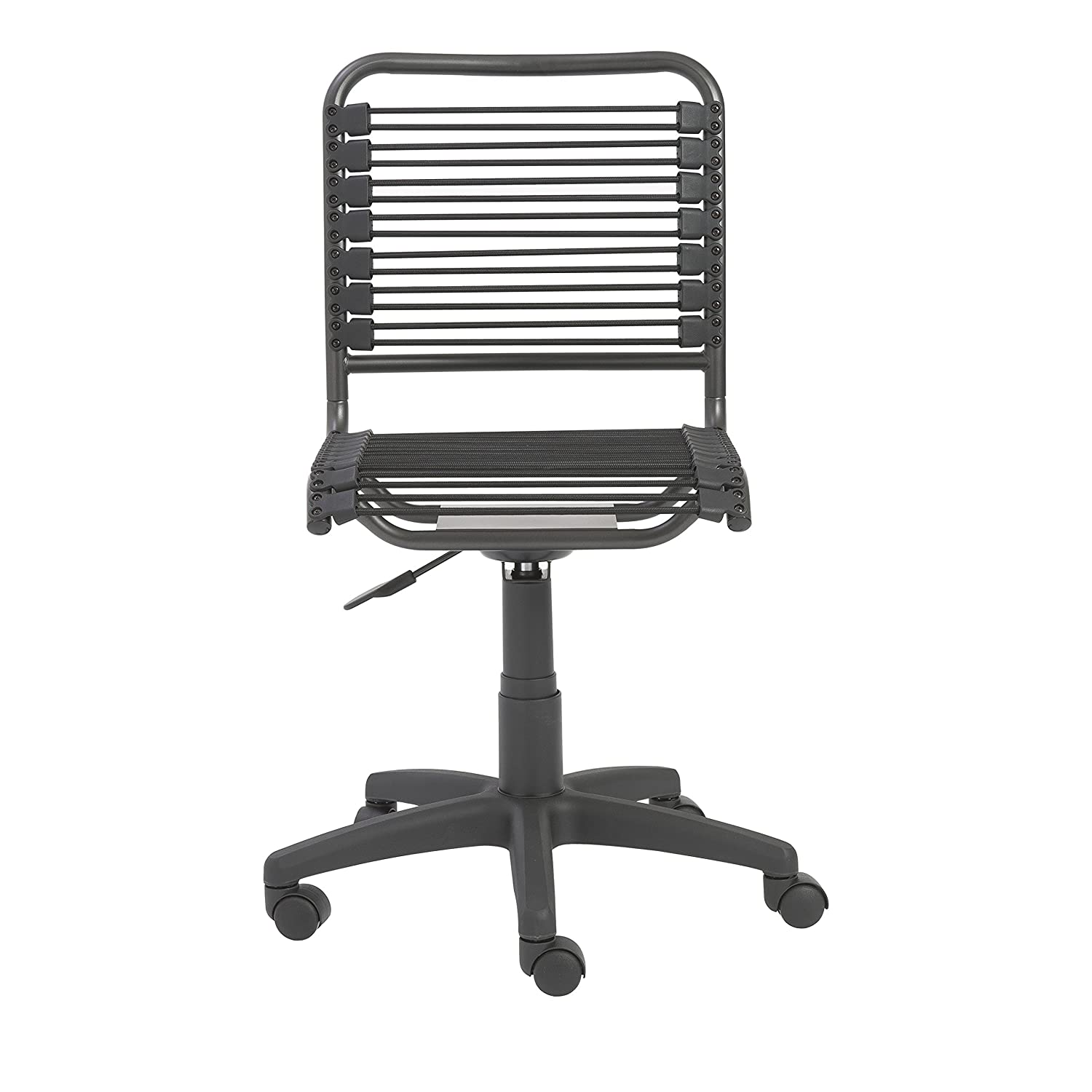 Amazoncom Euro Style Bungie Low Back Adjustable Office Chair