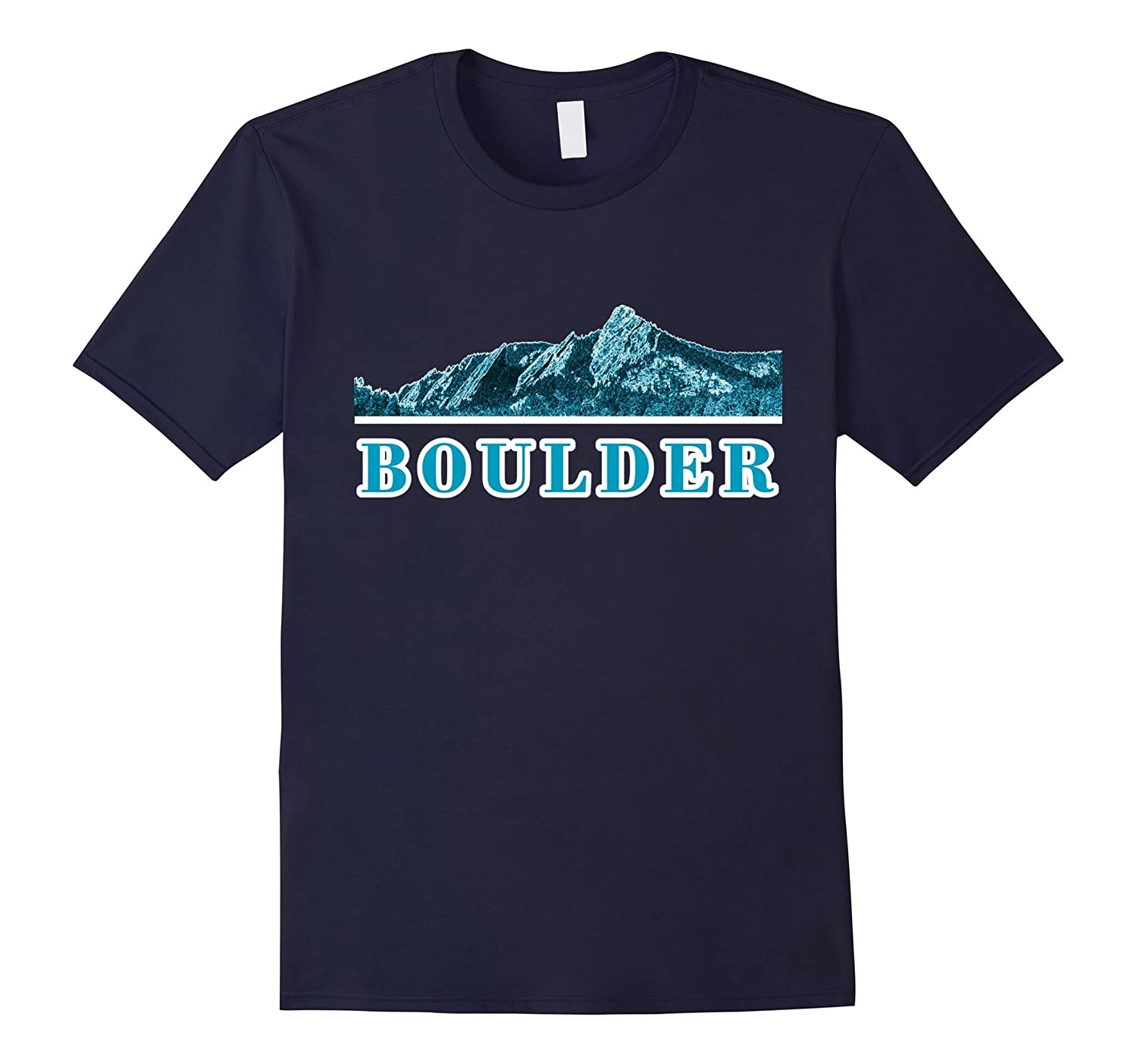 Colorado Shirt with The Boulder Flat Irons in Blue Style
