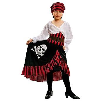 My Other Me Me-200584 Disfraz de pirata bandana para niña, 5-6 ...
