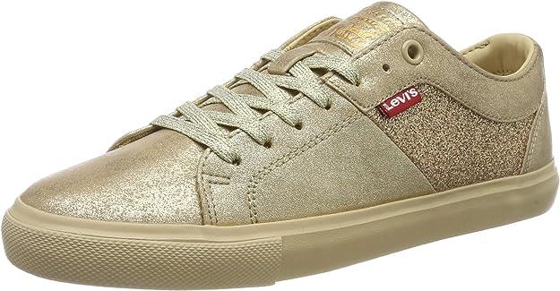 Levi's Woods W Sneakers Damen Gold