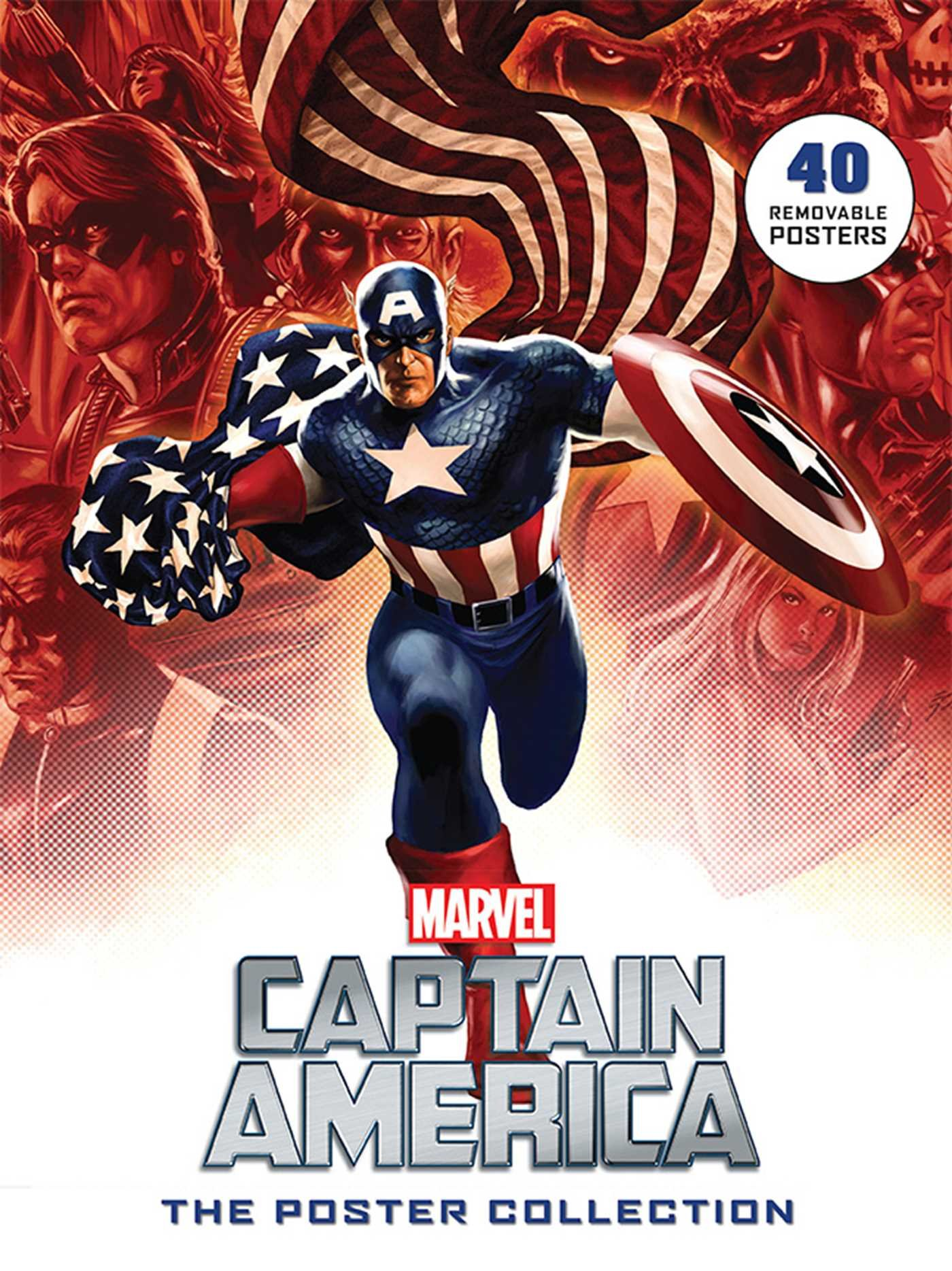 Captain America: The Poster Collection: 40 Removable Posters (Insights Poster Collections)