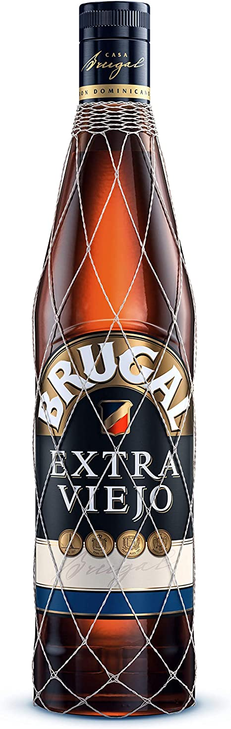 Brugal Extra Viejo Ron Dominicano, 38% - 700 ml: Amazon.es ...