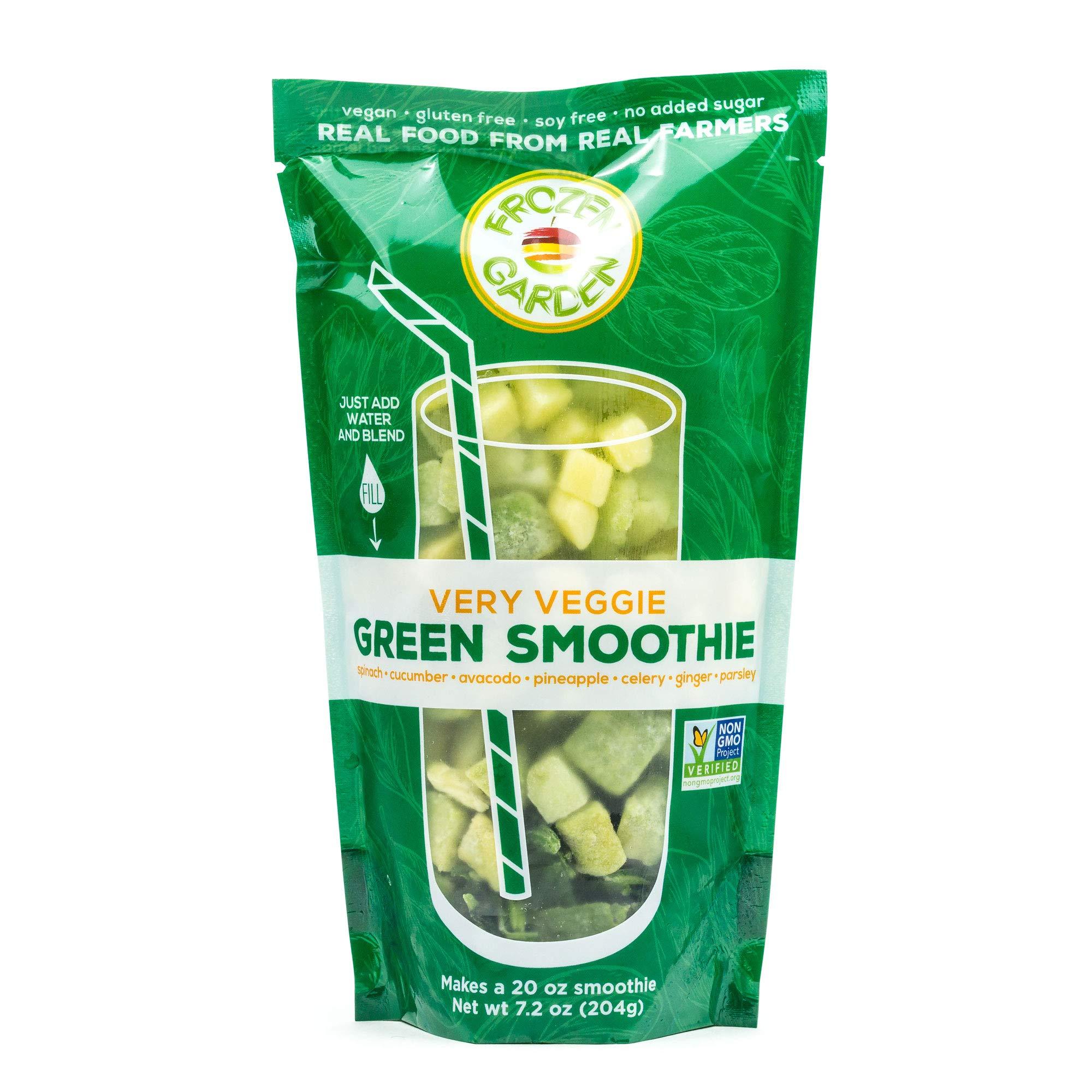 Frozen Garden Green Smoothie Pack - Very Veggie (32) by Frozen Garden