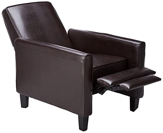 sc 1 st  Amazon.com & Amazon.com: Best-selling Leather Recliner Club Chair: Kitchen u0026 Dining