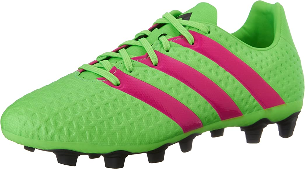 ff72f799a178 adidas Performance Men's Ace 16.4 FG/AG Soccer Shoe,Shock Green/Shock Pink
