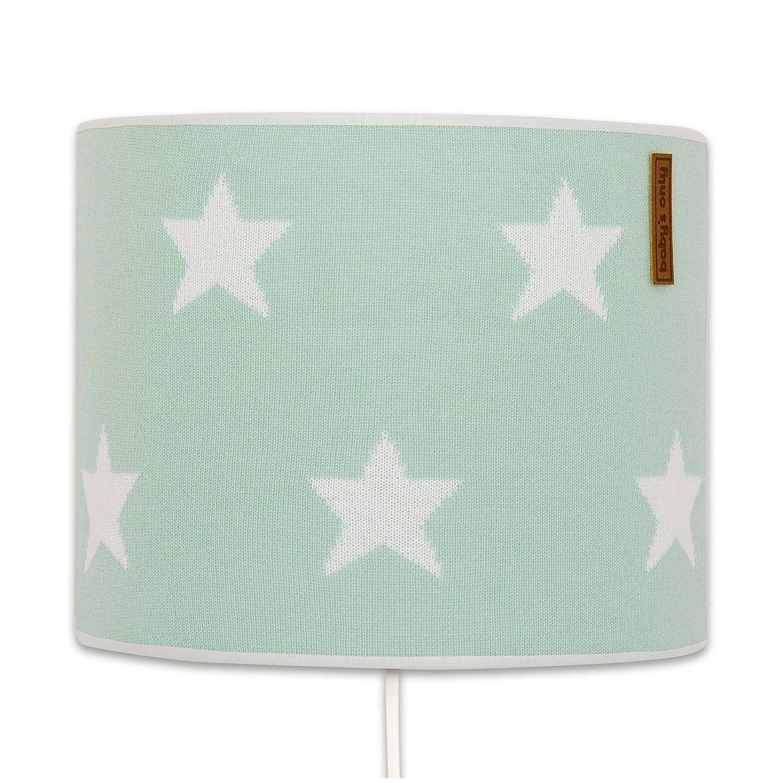Baby's Only 914892 Wandleuchte 20 cm Sterne Mint   Weiß