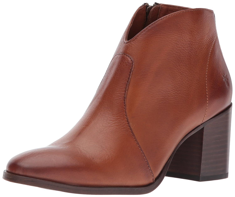 FRYE Women's Nora Short Inside Zip Boot B01MY1EF68 8.5 B(M) US|Nutmeg Soft Full Grain