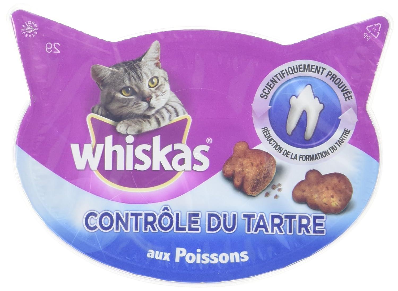 Whiskas - Pour un pelage sain - Friandises pour chats - Boîte de 50 g - Lot de 8 117668