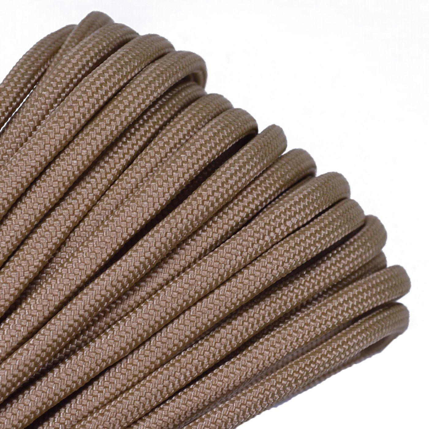 Solid Colors Paracord - Type III Parachute Cord - Gold - 100 Feet by Bored Paracord