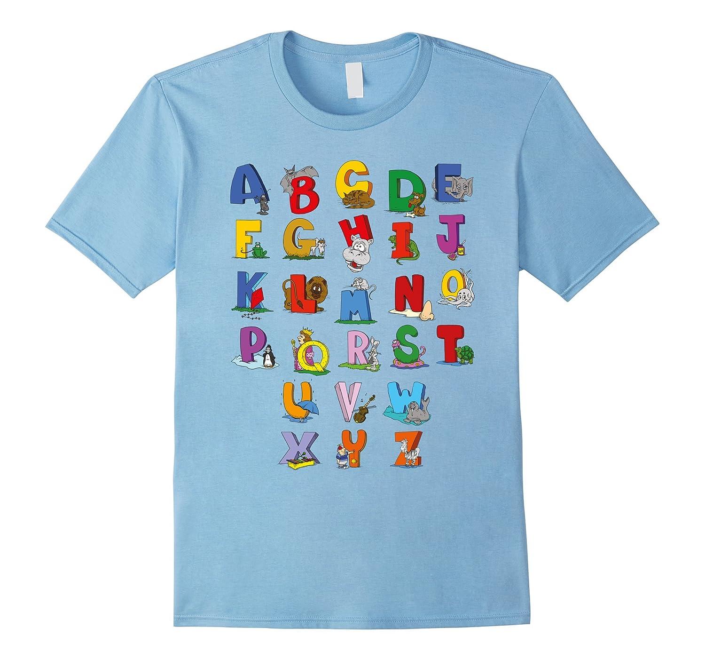 Alphabet T-Shirt Funny Cute Kindergarten Rocks For Kids-T-Shirt