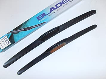 Bongo última estilo híbrido limpiaparabrisas cuchillas 24 x 16: Amazon.es: Coche y moto