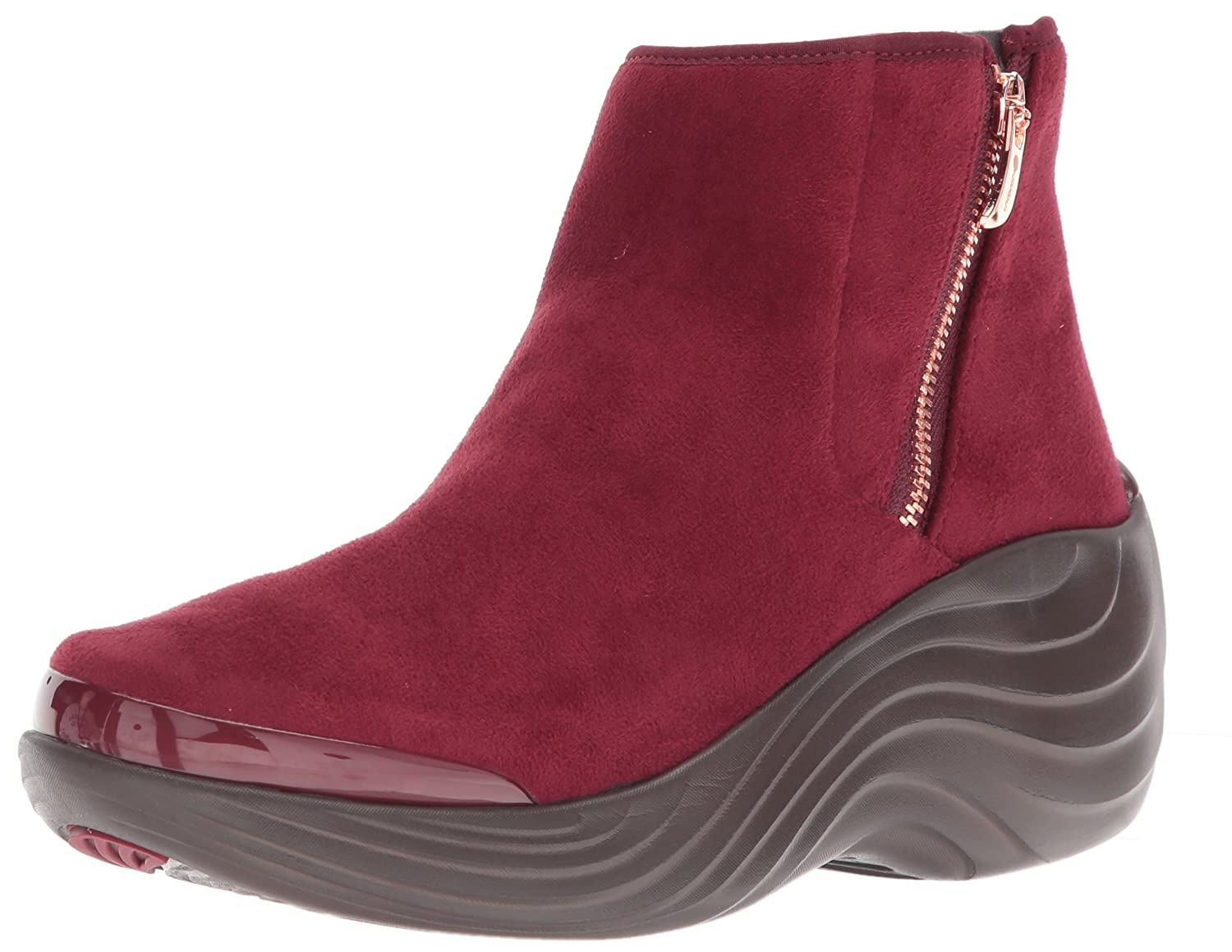 BZees Women's Zora Ankle Boot B076C1WCRS 6.5 W US|Wine