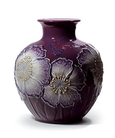 Amazon.com: SALE Lladro Porcelain POPPY FLOWERS VASE (PURPLE ... on purple cd, purple tm, purple tg, purple ca, purple sg, purple co, purple ma,
