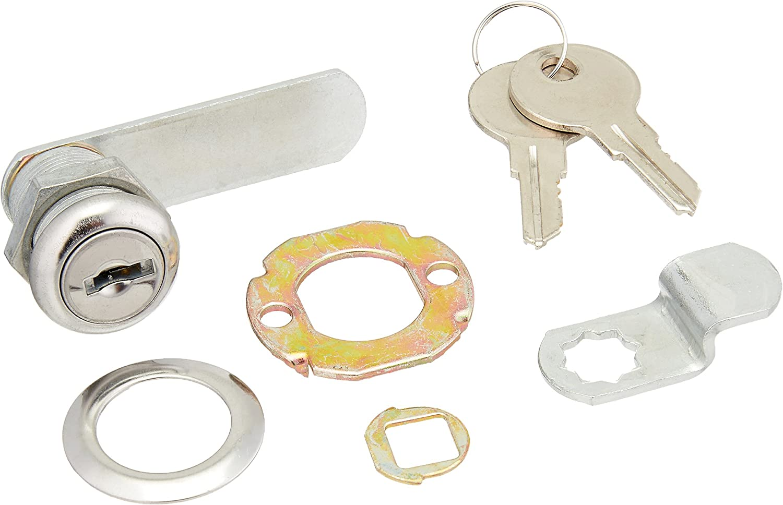 NATIONAL MFG/SPECTRUM BRANDS HHI N185-280 Utility Lock, 1/2-Inch, Chrome