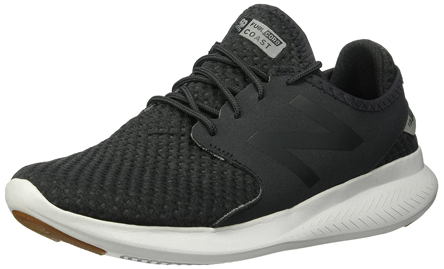 New Balance Women's Coast-V3 Running Shoe B01NAMVZJ6 11 B(M) US|Black/Phantom