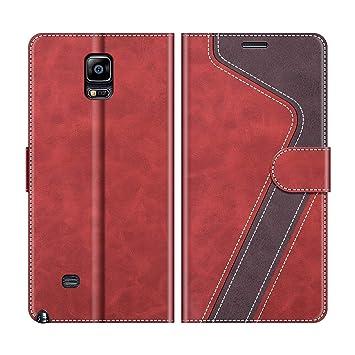 MOBESV Funda para Samsung Galaxy Note 4, Funda Libro Samsung ...