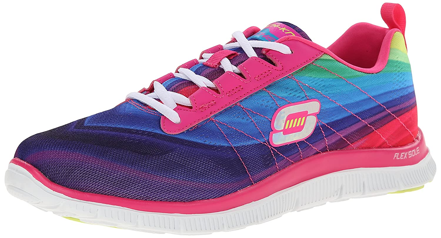 Amazon.com | Skechers Sport Women's Pretty Please Flex Appeal Fashion  Sneaker | Fashion Sneakers