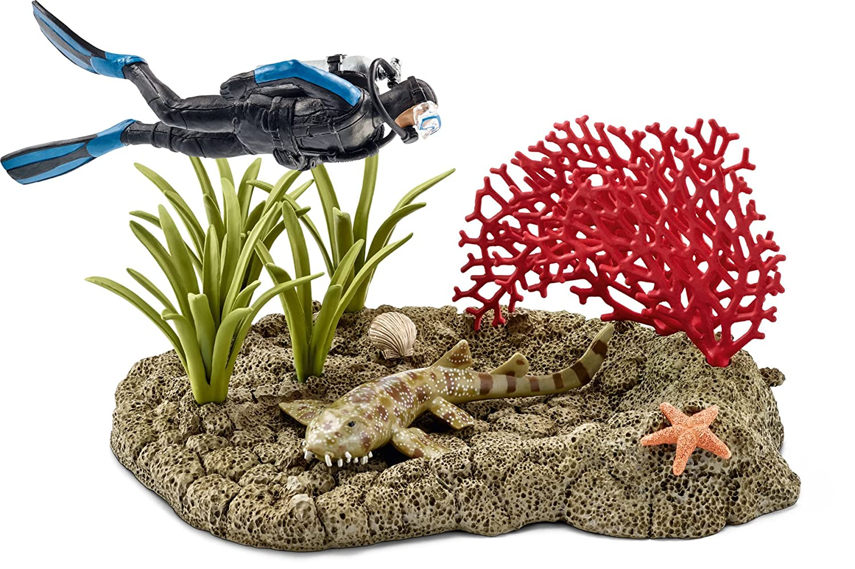 Schleich North America Coral Reef Diver Figure