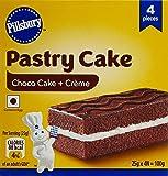 Pillsbury Pastry Cake, Chocolate, 25g (Pack of 4)