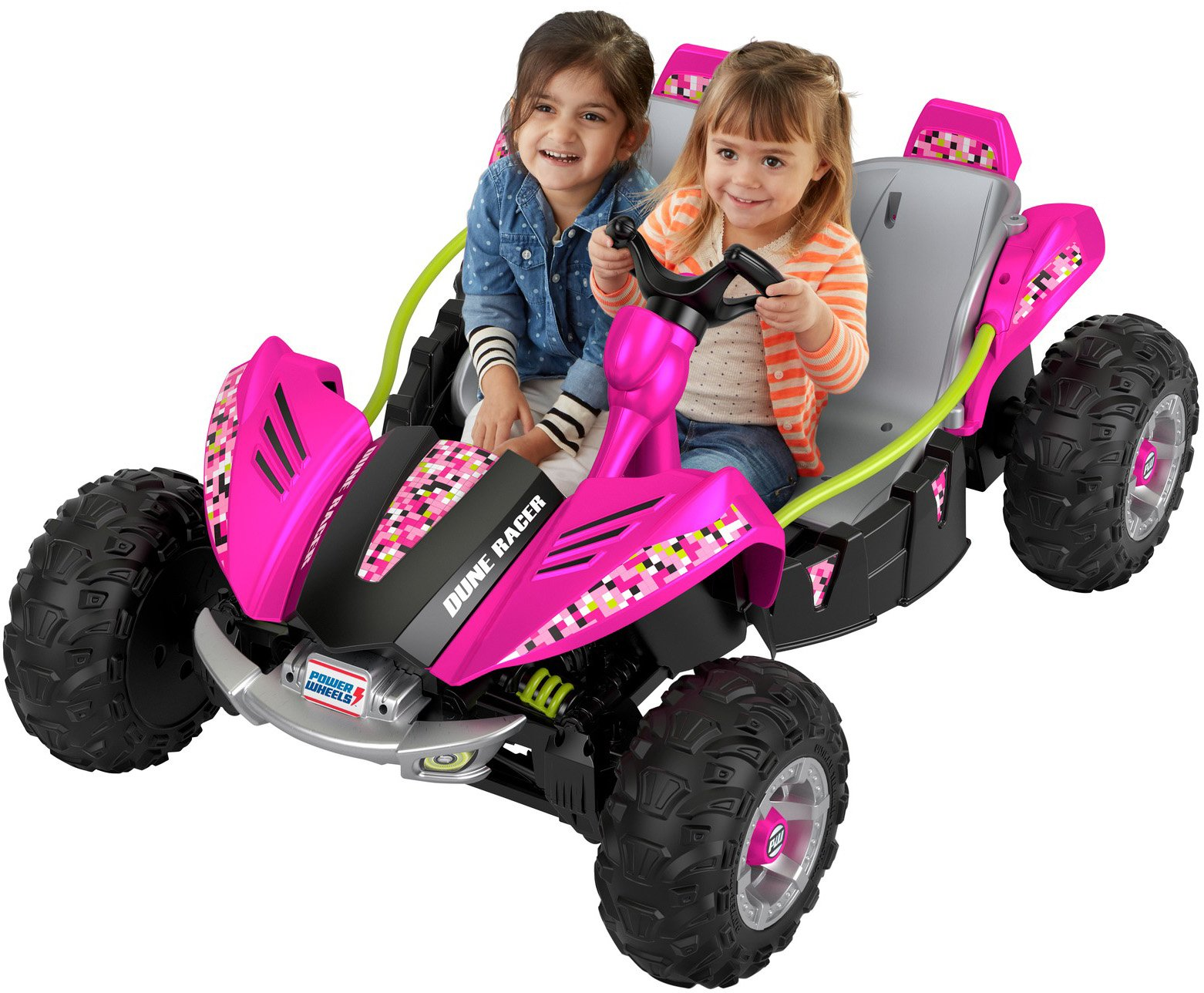 Power Wheels Dune Racer, Pixelated Pink by Fisher-Price