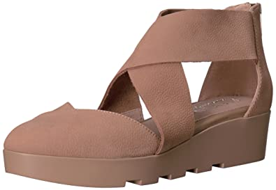 20eac2a98d0 STEVEN by Steve Madden Women s Nc-Carlo Wedge Sandal Taupe 8.5 ...
