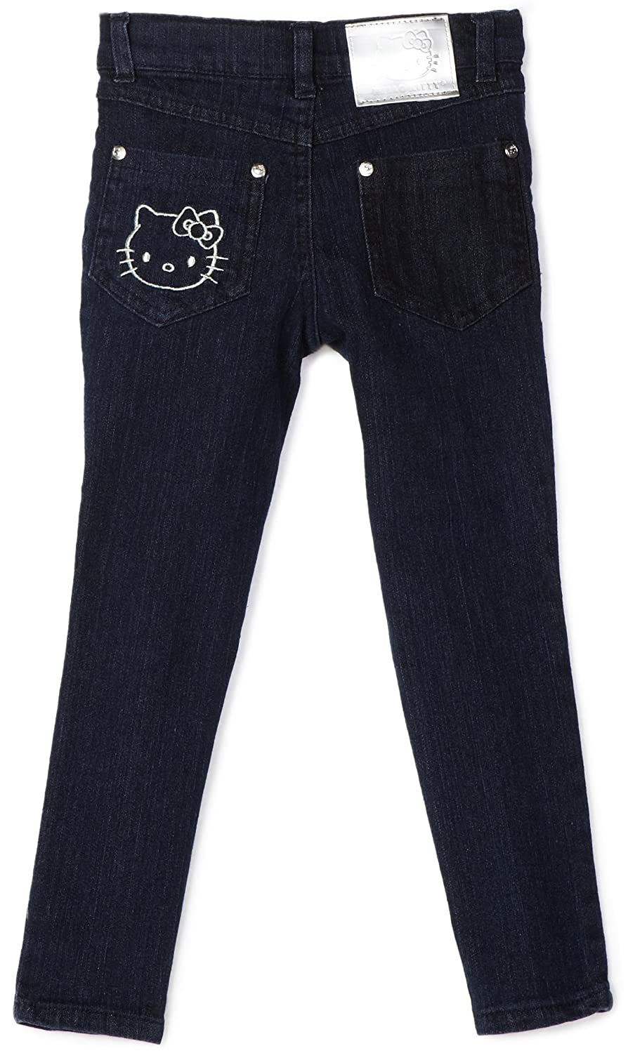7e38c1617 Amazon.com: Hello Kitty Girls' Skinny Jean with Patch Pocket: Clothing