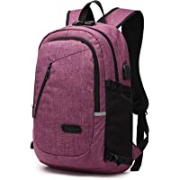 UponPak 35L Oxford Cloth Water Repellent USB Charge Port & Headphone Interface Anti-theft School Outdoor Hiking Camping Travel Laptop Backpack Rucksack Daypack knapsack with Reflective Strip