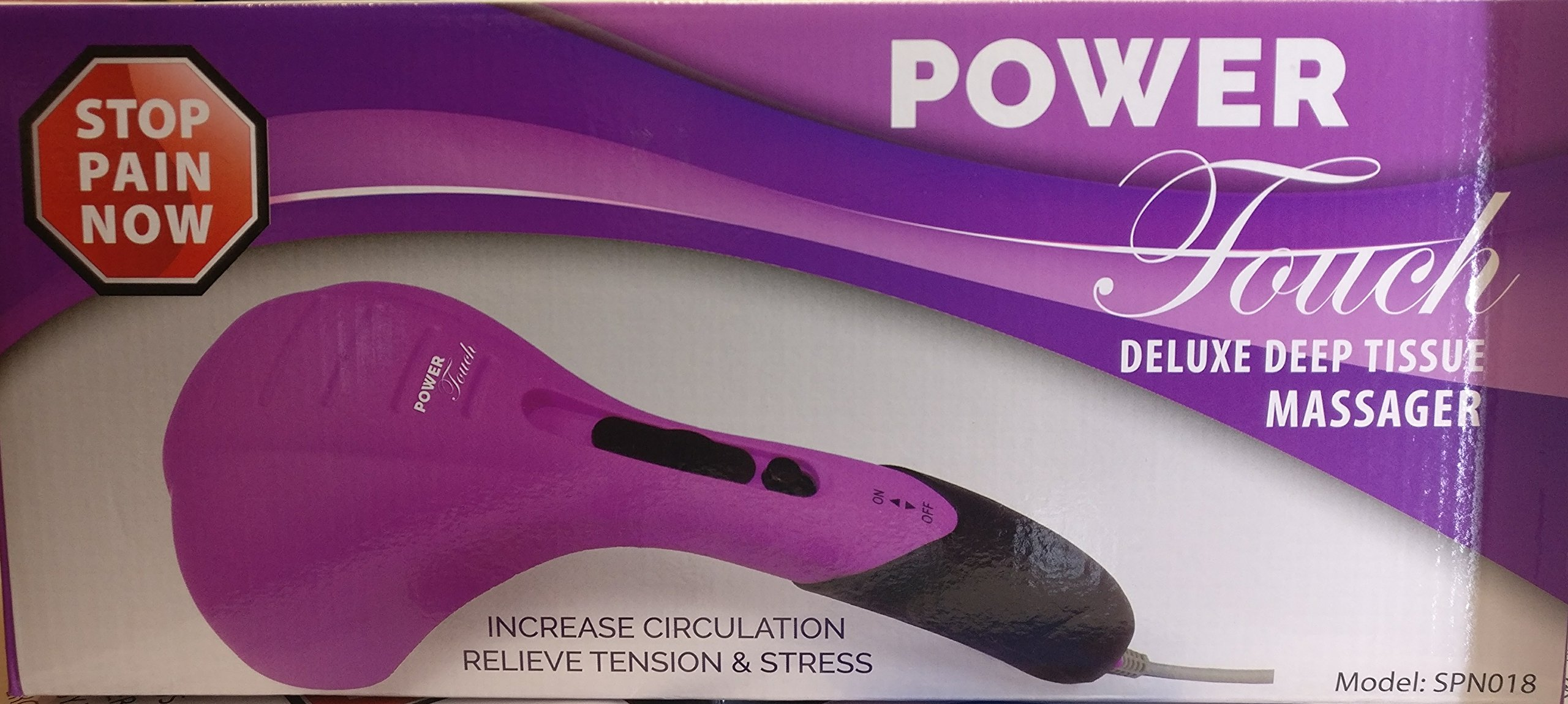 Power Touch Deluxe Deep Tissue Massager Pink