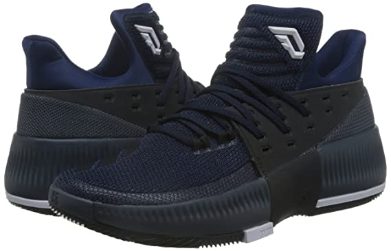 the latest 551e3 2e3dd adidas D Lillard 3 Chaussures de Basketball Homme Amazon.fr Sports et  Loisirs