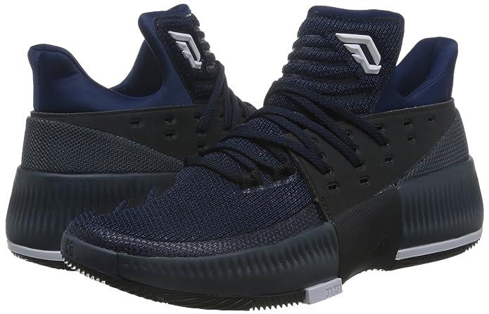 pretty nice e3c65 6c976 Adidas D Lillard 3, Scarpe da Basket Uomo, Blu (AzumisNegbasFtwbla), 45 EU  Amazon.it Scarpe e borse