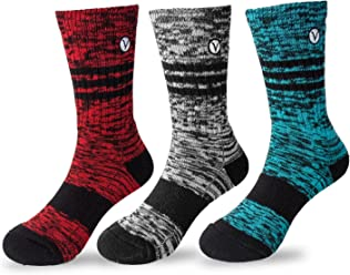 Boys 3 Pack Casual Cotton Socks Versatile For Any Occasion By VYBE