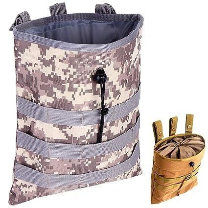 671e32c76a16 ALTBP Tactical Molle Drawstring Magazine Dump Pouch,
