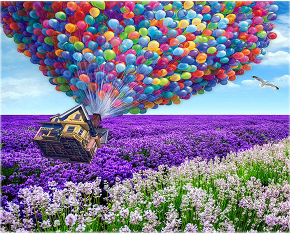 Hot Air Balloon 5D Diamond Painting Kits for Adult Kids 30x40cm//12x16Inch Full Round Painting by Numbers Kits Christmas Day Gift by TOCARE