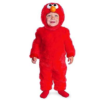 Disguise Costumes Sesame Street Light Up Elmo Infant: Toys & Games [5Bkhe1107102]