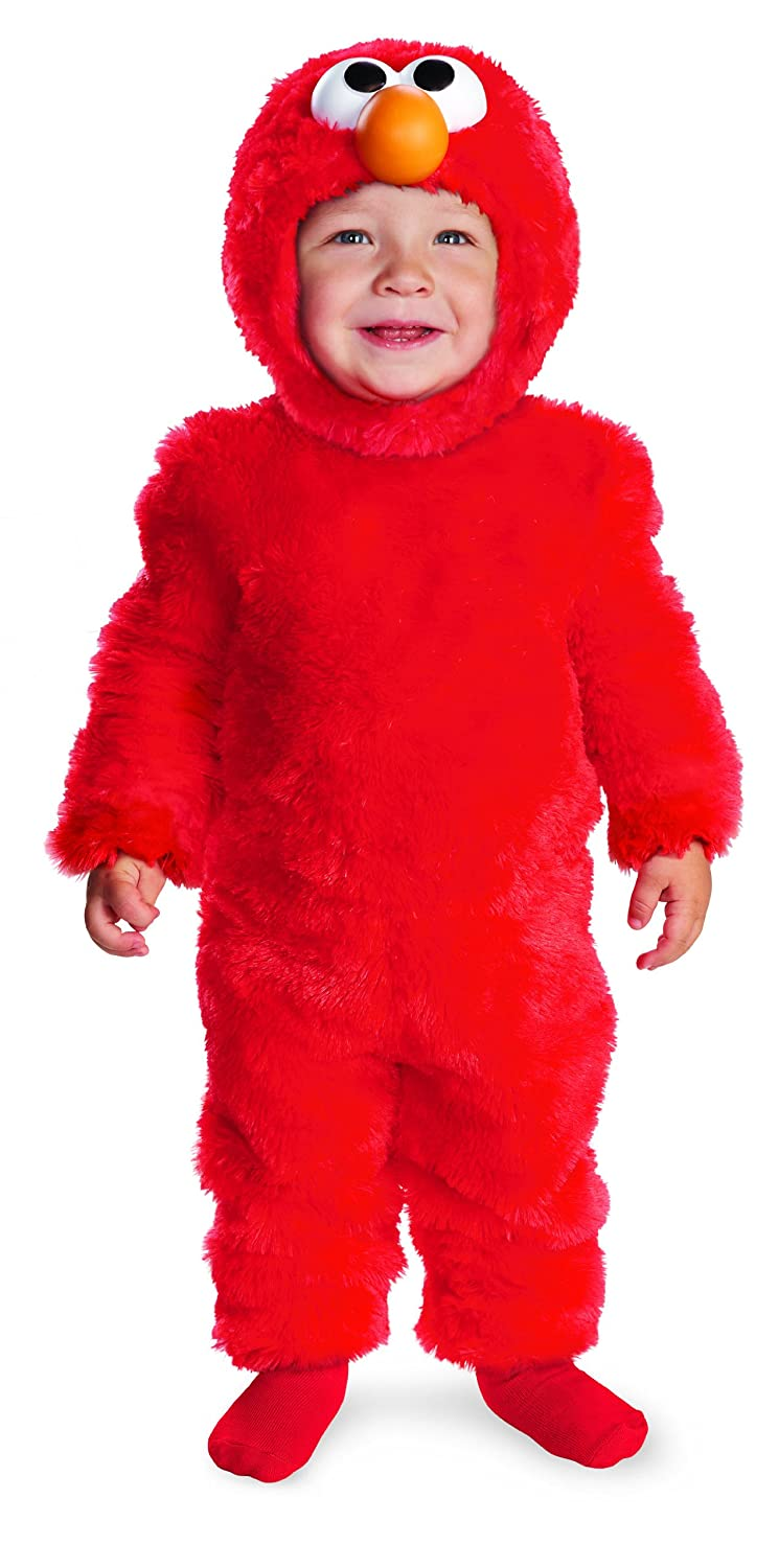 amazoncom disguise costumes sesame street light up elmo infant toys games - Halloween Costumes Elmo