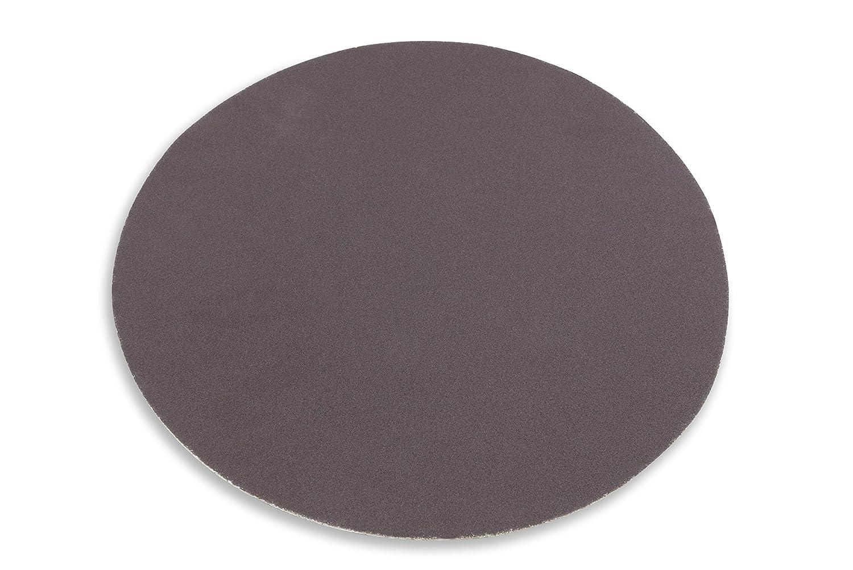 5 Pack Red Label Abrasives 10 Inch 60 Grit Adhesive Back Aluminum Oxide metal Sanding Discs