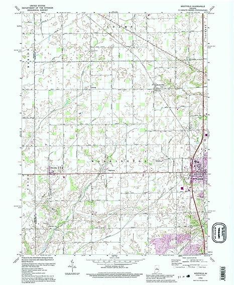 Amazon Com Yellowmaps Westfield In Topo Map 1 24000 Scale 7 5 X