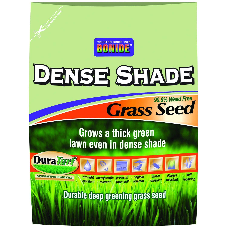 Bonide 60219 Dense Shade Grass Seed, 50-Pound