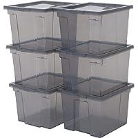 Iris Ohyama, lote de 6 cajas de almacenamiento