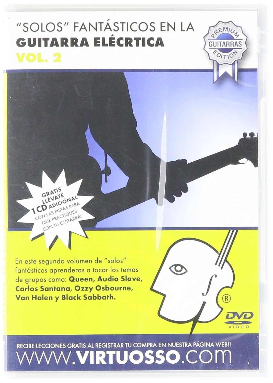 Amazon.com: Virtuosso Electric Guitar Riffs Vol.2 (Curso De Solos Fantásticos En La Guitarra Eléctrica Vol.2) SPANISH ONLY: Musical Instruments
