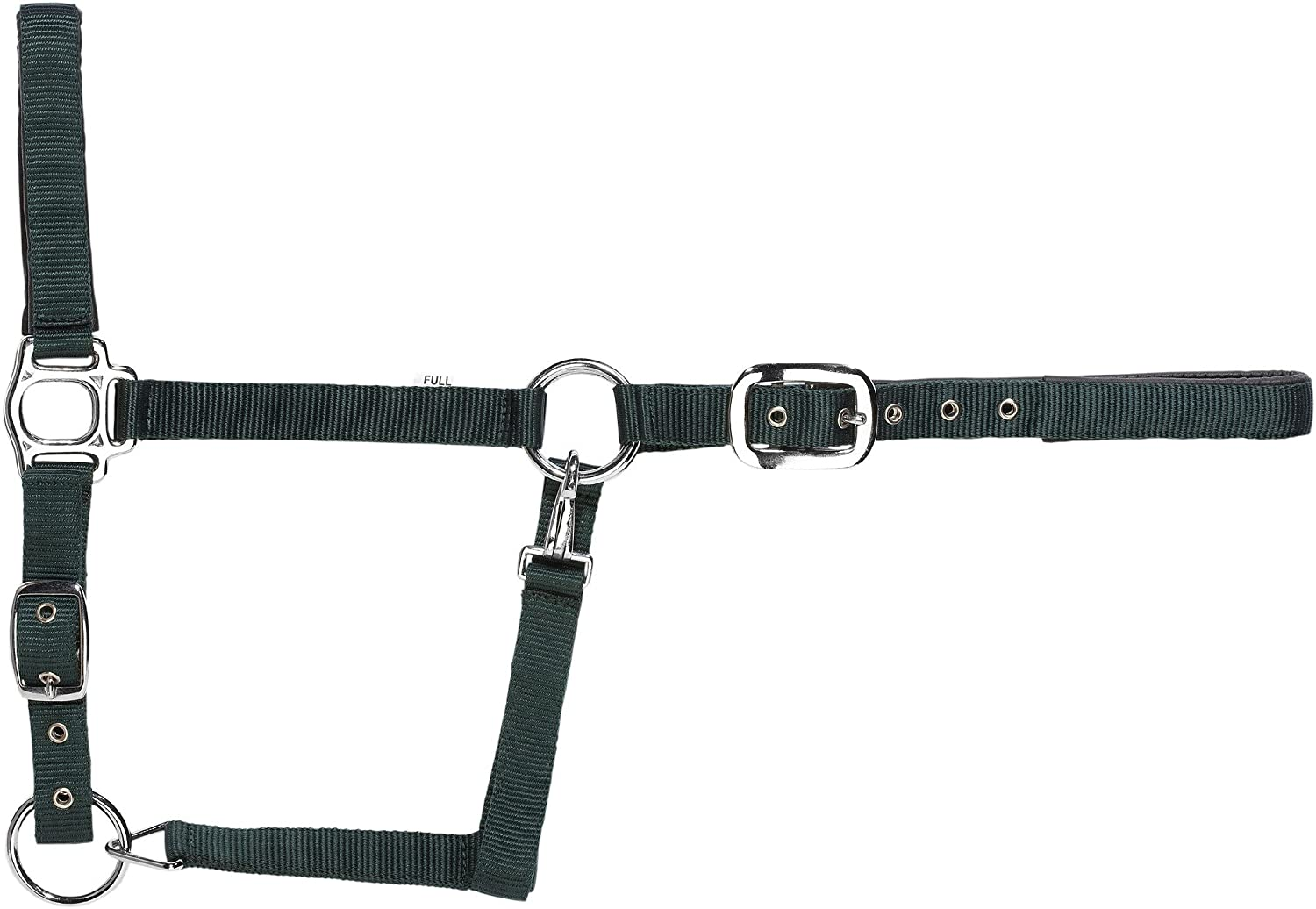 Pony USG Halter with Silver Fittings//Soft Padded Navy