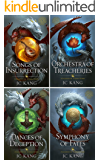 The Dragon Songs Saga Box Set: The Complete Epic Quartet