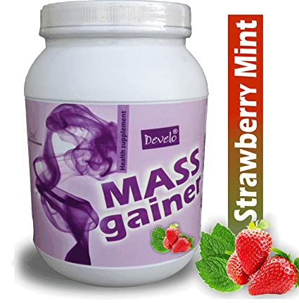 DEVELO MASS GAINER WITH RAPID CARBS & TRIPLE PROTEIN